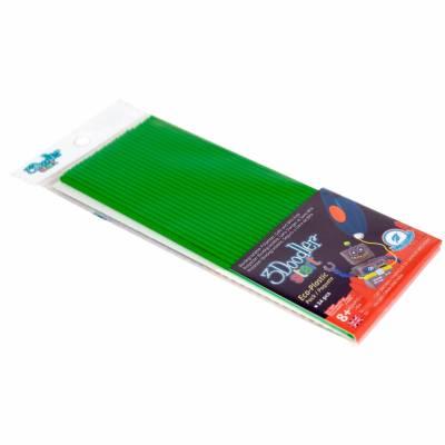 Стержни для 3D-ручки 3Doodler Start, зеленые, 24 шт. Wobble Works