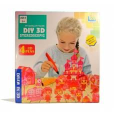 Набор из 4 3D-ручек Diy Stereoscopic 3D Stereoscopic