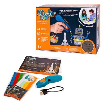 Базовый набор с 3D-ручкой 3Doodler Start - Essentials  Wobble Works