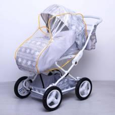 Дождевик для детской коляски универсальный из ПВХ-плёнки, на резинке Витоша