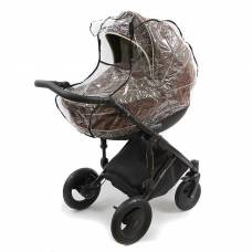 Дождевик на коляску с окном, цвет прозрачный ПАПИТТО