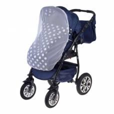 Москитная сетка на коляску универсальная, цвет белый, 75х100 см ScrapBerry's