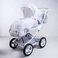 Москитная сетка на коляску универсальная, цвет белый, 90х100 см Витоша
