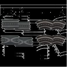 Набор аксессуаров к трекам Carrera Evolution, 1:24 Carrera