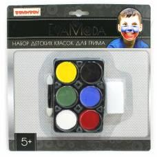 Набор детских красок для грима Eva Moda Bondibon