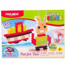Мозаика 2 в 1 Super Beads - Кораблик и зайчик Paulinda