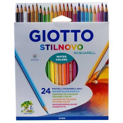 Акварельные карандаши, 24 цвета Giotto