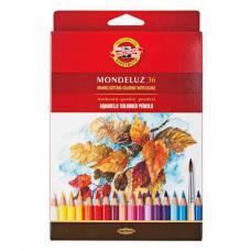 Набор акварельных карандашей Mondeluz, 36 цветов Koh-i-Noor