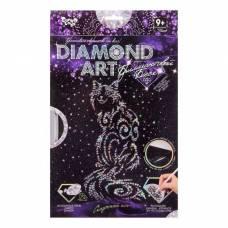Алмазная мозаика на подрамнике Dimond Art - Сказочный кот Данко Тойс / Danko Toys