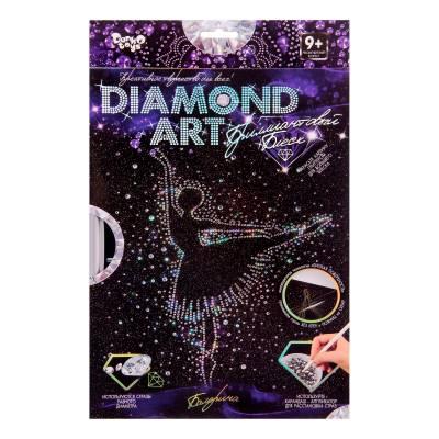 Алмазная мозаика на подрамнике Diamond Art - Балерина Данко Тойс / Danko Toys