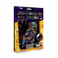 Алмазная мозаика без подрамника Diamond Decor - Сова  Данко Тойс / Danko Toys
