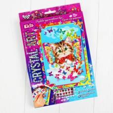 Набор креативного творчества «Самоклеящиеся кристаллы» серии «Crystal Art» Данко Тойс / Danko Toys