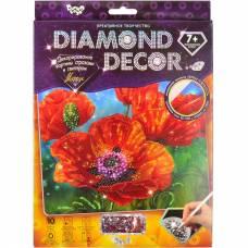 Алмазная мозаика Diamond Decor - Маки Данко Тойс / Danko Toys