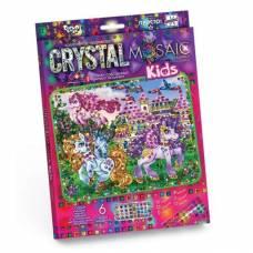Набор для творчества Crystal Mosaic - Прекрасные Пони Данко Тойс / Danko Toys
