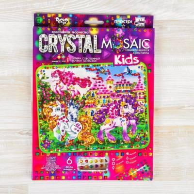 Набор для создания мозаики серии «CRYSTAL MOSAIC. Пони», на тёмном фоне Данко Тойс / Danko Toys