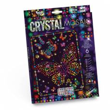 Набор для творчества Crystal Mosaic - Бабочки Данко Тойс / Danko Toys