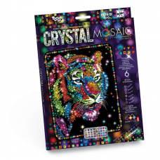 Набор для творчества Crystal Mosaic - Тигр Данко Тойс / Danko Toys