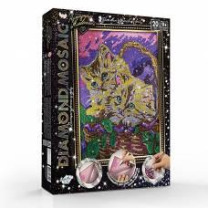 Набор креативного творчества «Diamond Mosaic. Котята в корзине» Данко Тойс / Danko Toys
