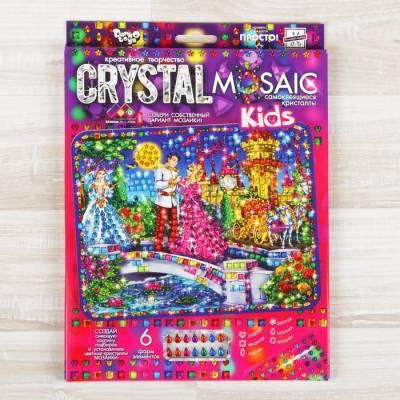 Набор для создания мозаики серии CRYSTAL MOSAIC, на тёмном фоне Данко Тойс / Danko Toys