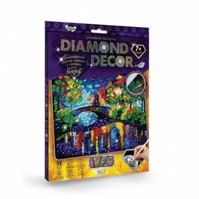 Алмазная мозаика без подрамника Diamond Decor - Рандеву, круглые элем.  Данко Тойс / Danko Toys