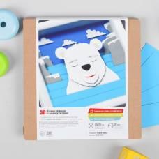 3D-аппликация из бумаги
