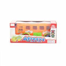 Музыкальный автобус Happy Bus (свет), оранжевый Zhorya