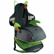 Детский рюкзак-автокресло Boostapak, черно-зеленое Trunki