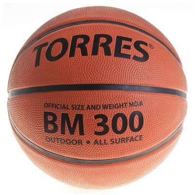 Мяч баскетбольный Torres BM300, B00016, размер 6  TORRES