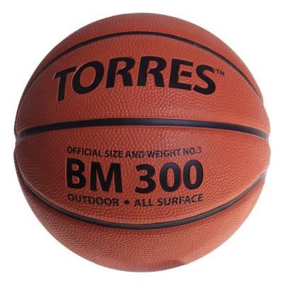 Мяч баскетбольный Torres BM300, B00013, размер 3  TORRES