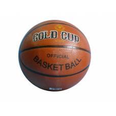 Баскетбольный резиновый мяч Gold Cup, размер 7
