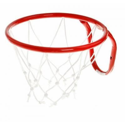 Металлическая баскетбольная корзина, красная, 29.5 см ЧП Максимов