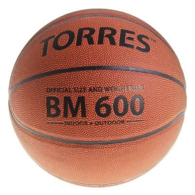Мяч баскетбольный Torres BM600, B10026, размер 6  TORRES