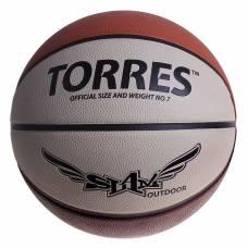 Мяч баскетбольный Torres Slam, B00067, размер 7  TORRES