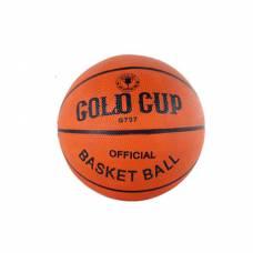 Баскетбольный мяч Gold Cup, оранжевый, размер 7