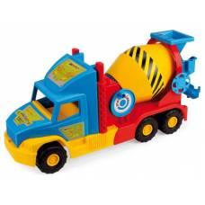 Машина-бетономешалка Super Truck, 58.5 см Wader