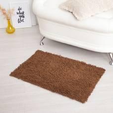Ковер для ванны «Шегги», 50 х 80, цвет коричневый. Sima-Land