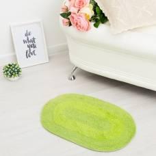 Ковер овальный «АНИКА», 40х60 ± 3 см, цвет зеленый. Sima-Land