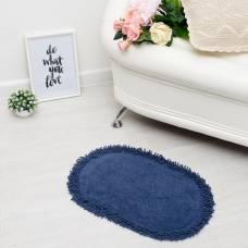Ковер овальный «МАЙЯ», 40х60 ± 3 см, цвет синий. Sima-Land