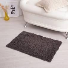 Ковер для ванны «Шегги», 50 х 80, цвет цвет серый. Sima-Land
