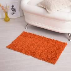 Ковер для ванны «Шегги», 50 х 80, цвет оранжевый. Sima-Land