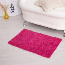 Ковер для ванны «Шегги», 50 х 80, цвет розовый. Sima-Land