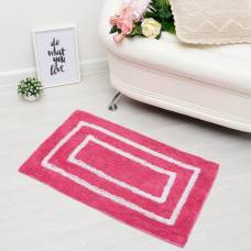 Ковер «РАЙТ», 50х80 ± 3 см, цвет розовый. Sima-Land