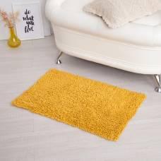 Ковер для ванны «Шегги», 50 х 80, цвет желтый. Sima-Land