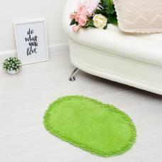 Ковер овальный «МУНГ», 40х60 ± 3 см, цвет зеленый. Sima-Land