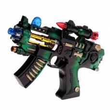 Автомат «Крутые пушки», световые и звуковые эффекты, работает от батареек Sima-Land