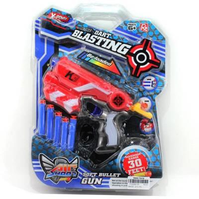 Игровой набор Dart Blasting - Бластер с пулями  Yako Toys