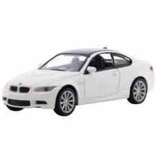 Коллекционная машинка BMW M3 Coupe, белая MotorMax