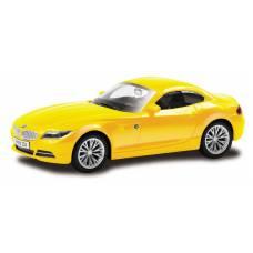 Машина металлическая RMZ City 1:43 BMW Z4 , Цвет Жёлтый RMZ City