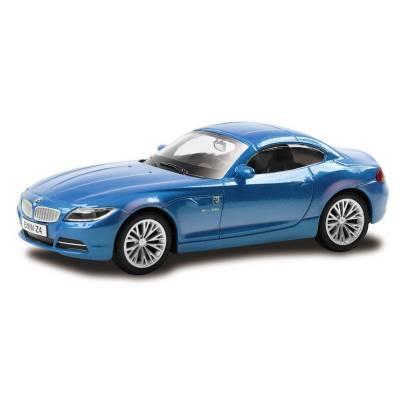 Машина металлическая RMZ City 1:43 BMW Z4, Цвет Синий RMZ City