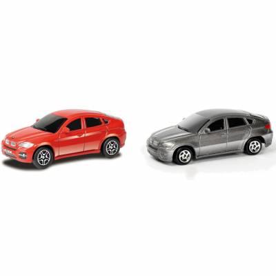 Коллекционная машинка RMZ City Junior - BMW X6, красная, 1:64 RMZ City